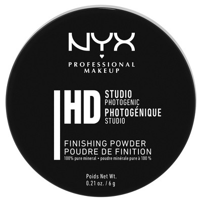 NYX Professional Makeup HD Studio Finishing Loose Powder - Translucent - 0.21oz