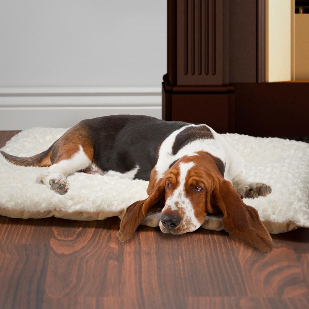 Petmaker Large Cushion Pillow Pet Bed - Latte, Cappuccino