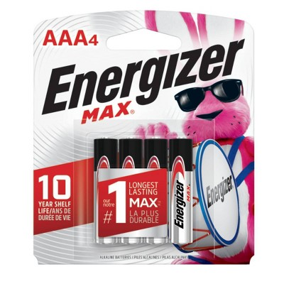 Batteries: Energizer Max