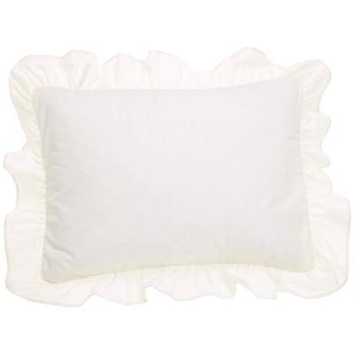 2pk Standard Ruffled Pillow Sham - Fresh Ideas