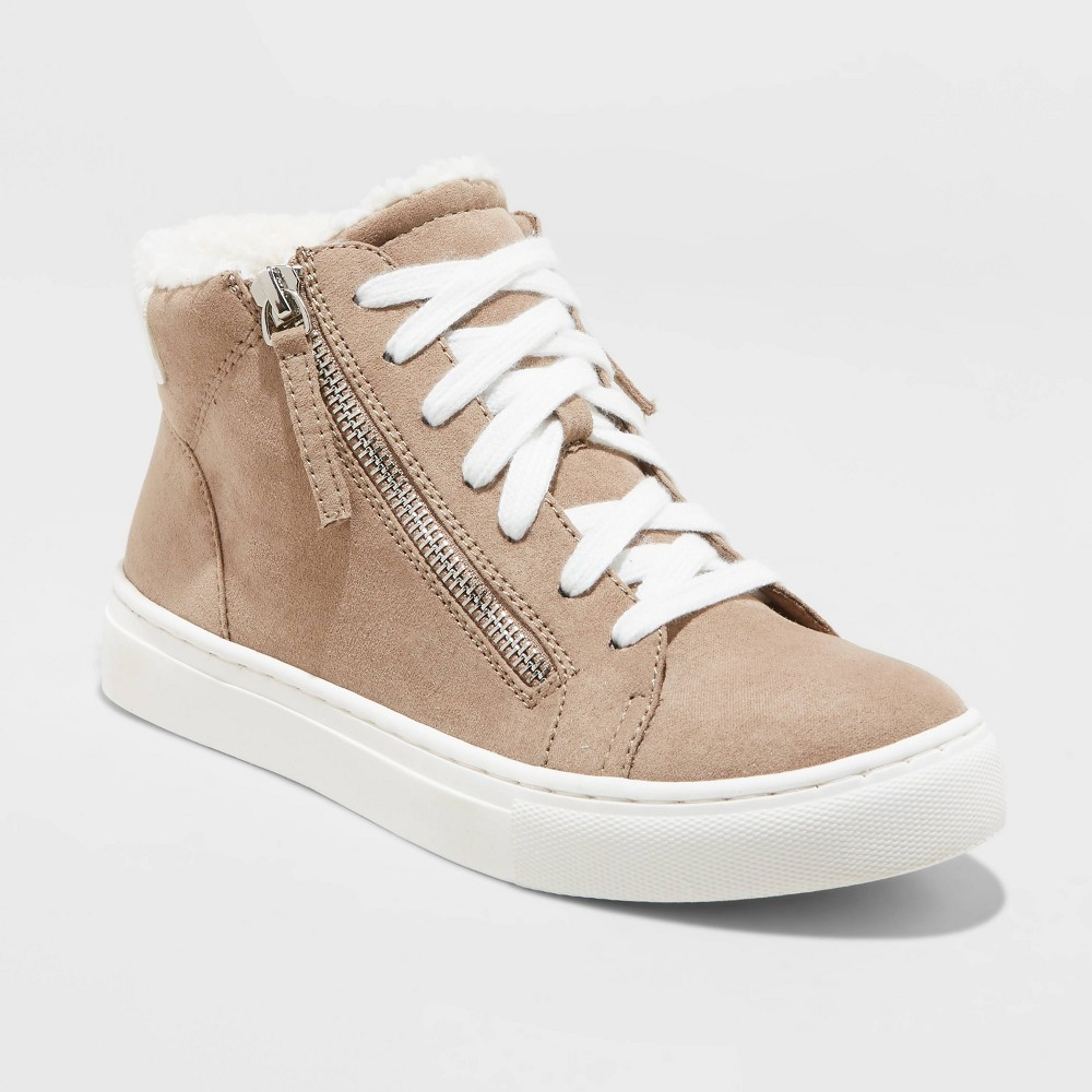 Cheap Women's Tilly Faux Sherpa Lined High Top Sneakers - Universal Thread™