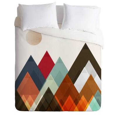 Brian Buckley Pepper Moon Comforter Set Brown - Deny Designs
