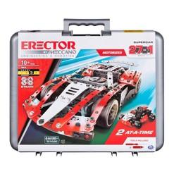Meccano 27 Model Set - Red Super Car Set