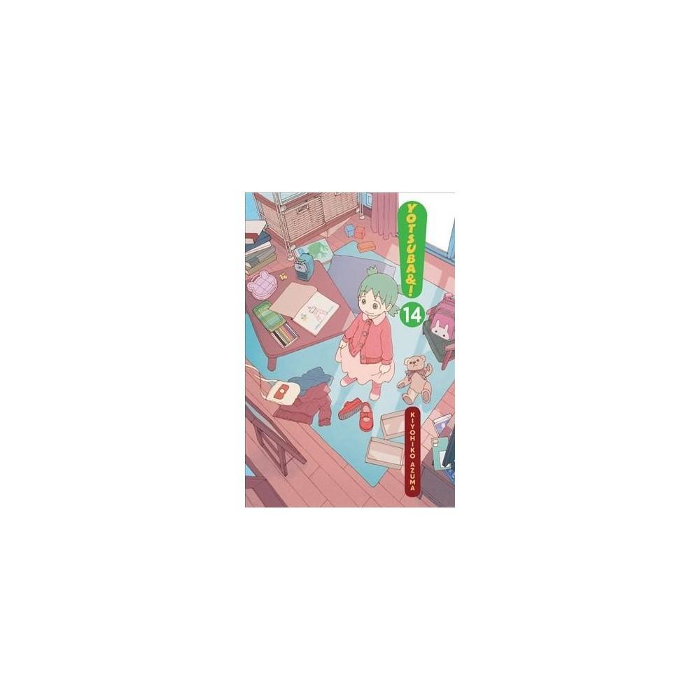Yotsuba&! 14 - (Yotsuba) by Kiyohiko Azuma (Paperback)