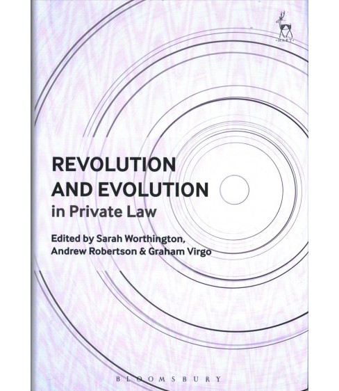 Revolution and Evolution in Private Law -  (Hardcover) - image 1 of 1