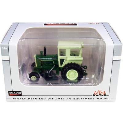 Oliver 1755 Tractor with Cab Dark Green with Light Green Top 1/64 Diecast Model by SpecCast