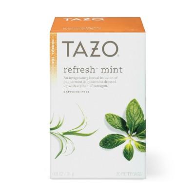 Tazo Refresh Herbal Tea - 20ct