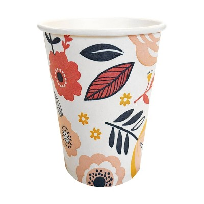 8pk Eco Party Disposable Drinkware Cups