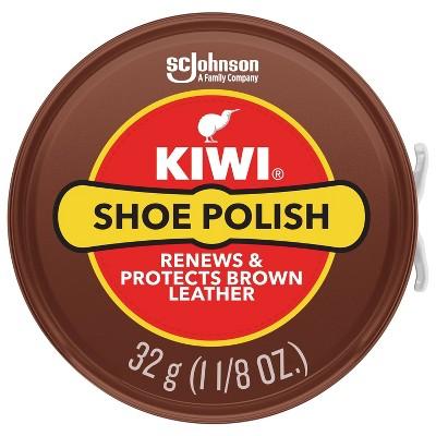 KIWI Shoe Polish, 1.125 oz (1 Metal Tin)