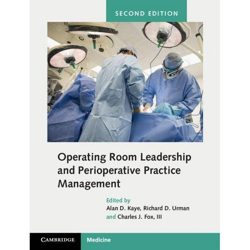 Operating Room Leadership and Perioperative Practice Management - 2 Edition (Hardcover) - image 1 of 1