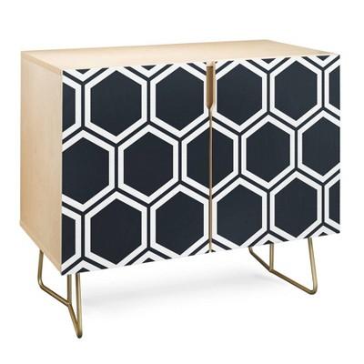 The Old Art Studio Hexagon Credenza - Deny Designs