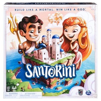 Santorini Strategy Based Board Game