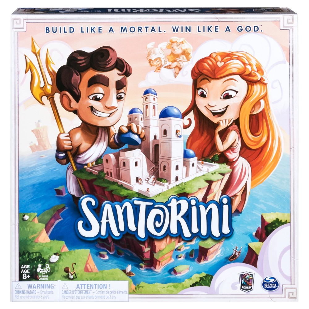 UPC 778988697924 - BOARD GAMES SANTORINI | upcitemdb com