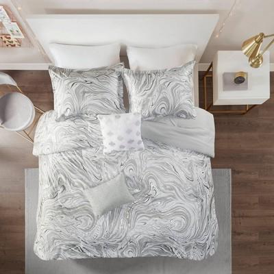 Vanessa Metallic Printed Comforter Set