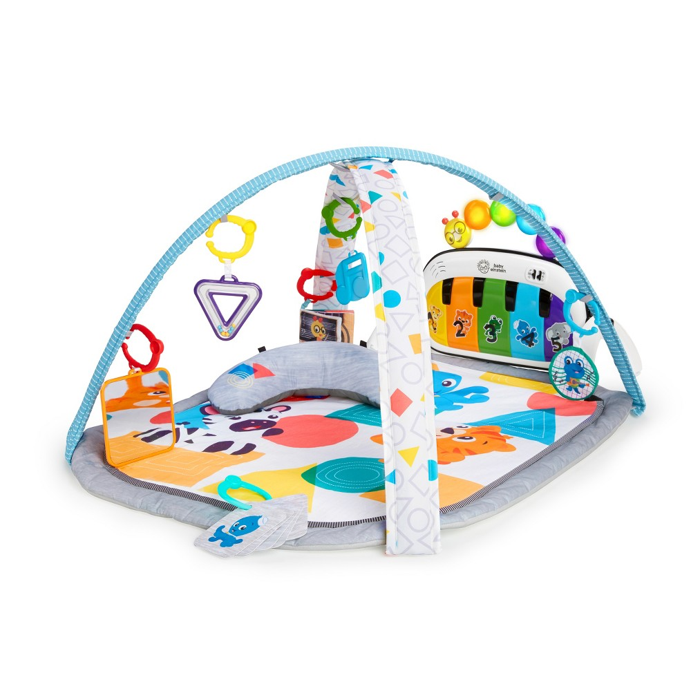 Image of Baby Einstein 4-in-1 Kickin' Tunes Music and Language Discovery Activity Gym