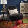 Cheryiie Faux Fur Accent Chair - Christopher Knight Home - image 2 of 4