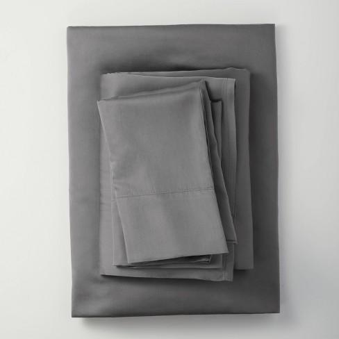 400 Thread Count Lyocell Solid Sheet Set - Casaluna™ - image 1 of 4