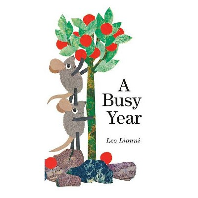 A Busy Year - by  Leo Lionni (Board Book)