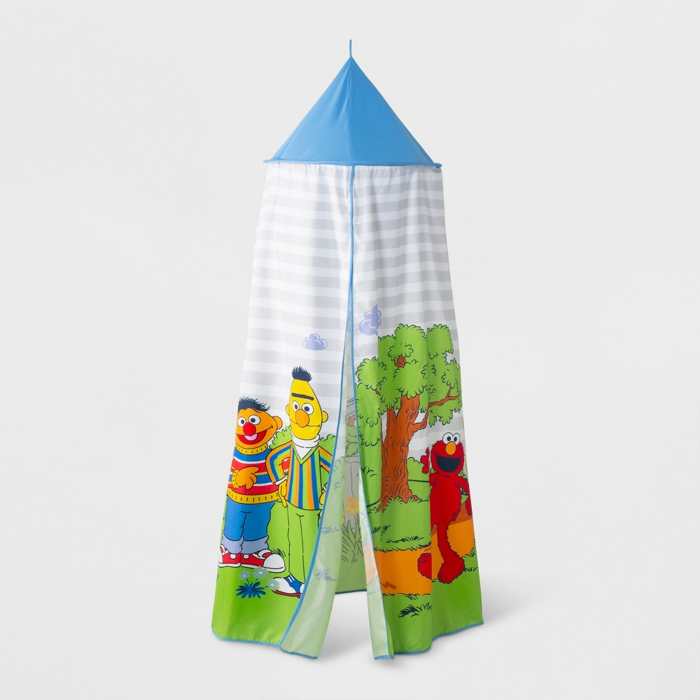 Image of Sesame Street bed Tents and Canopies, Blue