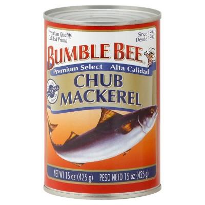 Bumble Bee Chub Mackerel - 15oz