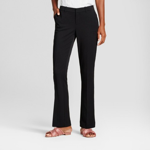 2cfaaef031 Women s Bootcut Bi-Stretch Twill Pants - A New Day™   Target