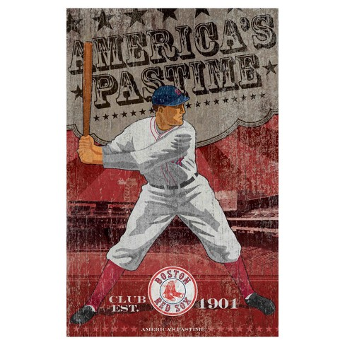 Boston Red Sox Imperial Vintage Wall Art : Target