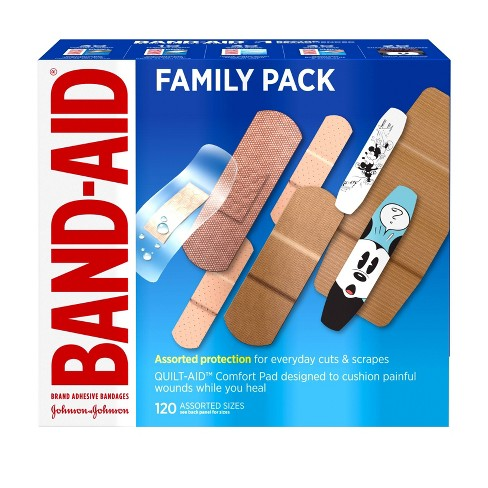BAND-AID Brand Adhesive Bandages Value Pack - 120ct - image 1 of 4