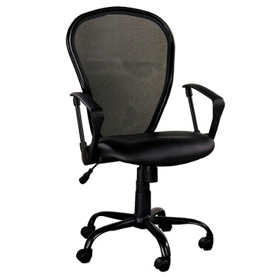 Mesh Back Chair Black - Z-Line
