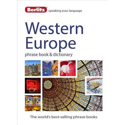 Berlitz Language: West European Phrase Book & Dictionary - (Berlitz Phrasebooks) (Paperback) - image 1 of 1