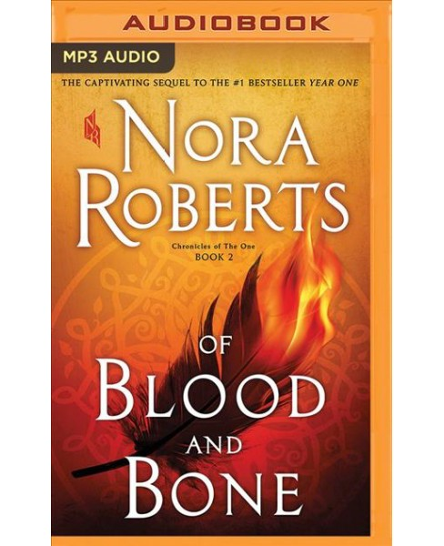 Of Blood and Bone -  (Chronicles of the One) by Nora Roberts (MP3-CD) - image 1 of 1