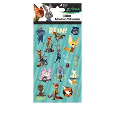 Trends International Zootopia 4 Sheet Sticker Pack