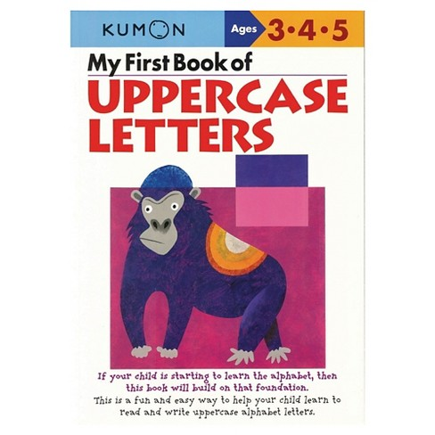 My First Book Of Uppercase Letters (Original) (Paperback) by Shinobu Akaishi - image 1 of 1