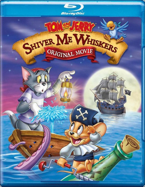 Tom And Jerry:Shiver Me Whiskers (Blu-ray) - image 1 of 1