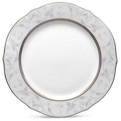 Noritake Regina Platinum Scalloped Accent Plate