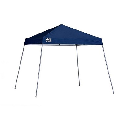 ShelterLogic Expedition 10 x 10 Foot 4 Slant Leg Pop Up Canopy, Midnight Blue
