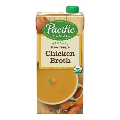 Pacific Foods Organic Free Range Chicken Broth - 32oz