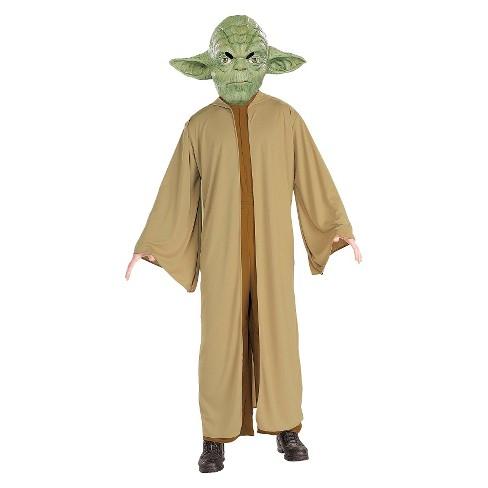 star wars yoda men s deluxe costume target
