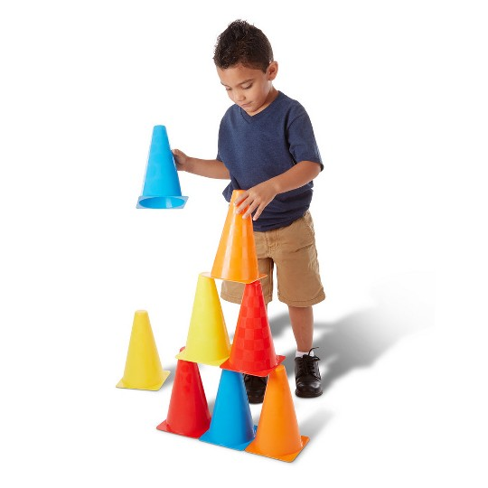 Melissa & Doug 8 Activity Cones - Set of 8 image number null