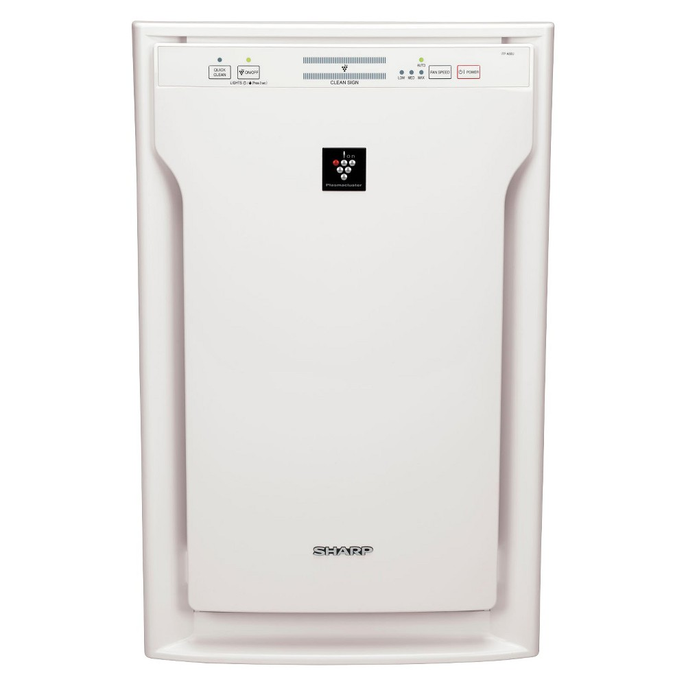 Sharp Plasmacluster Air Purifier with Hepa Filter FP-A80UW, White