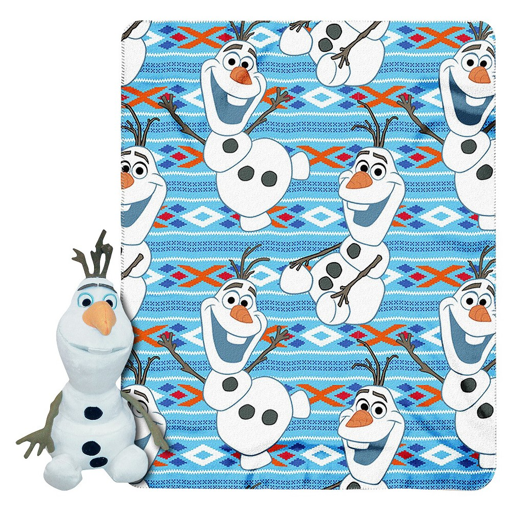 Disney Frozen Olaf Hugger & Throw - 46