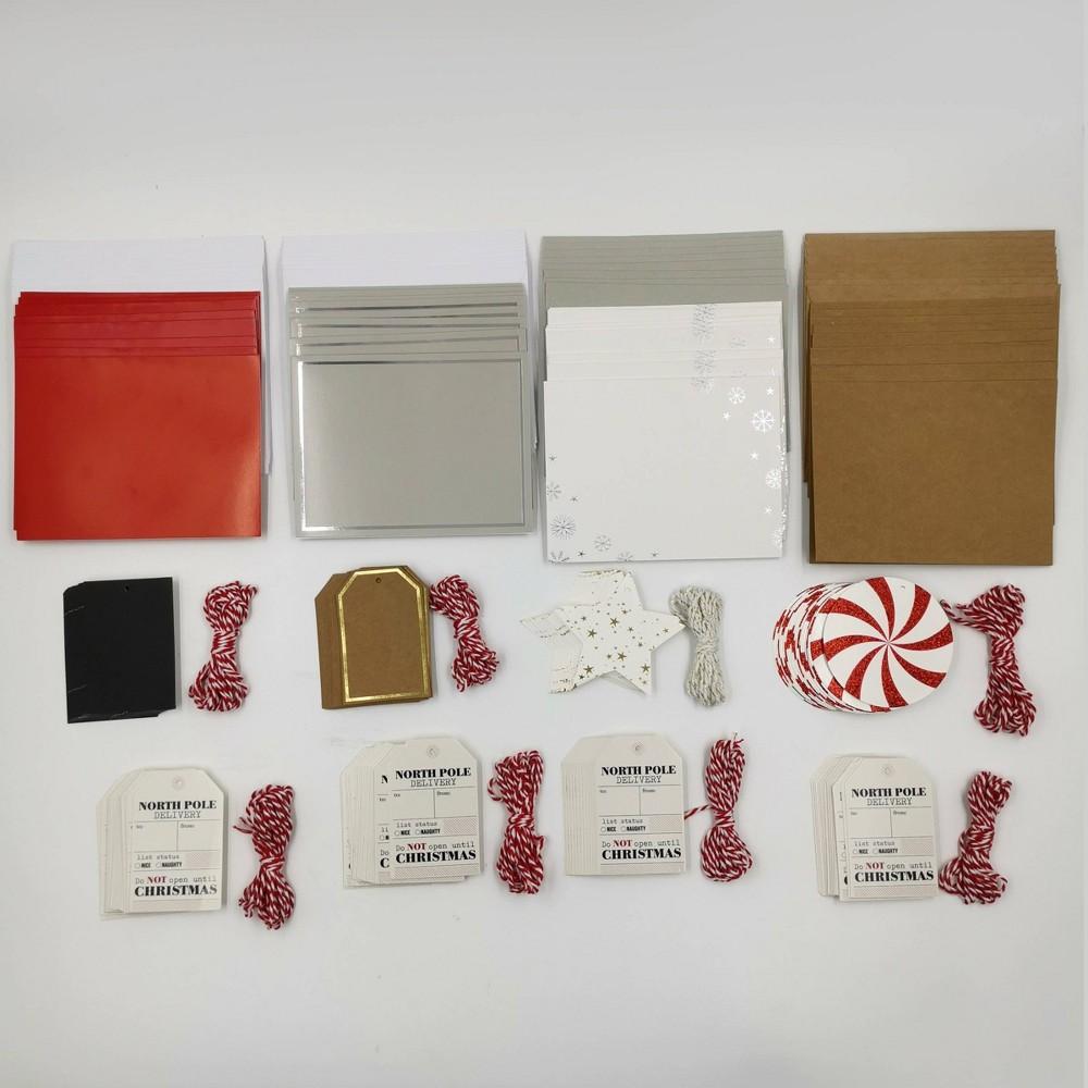 192ct Gift Tag 38 64ct Card Envelope Holiday Bundle Bullseye 39 S Playground 8482