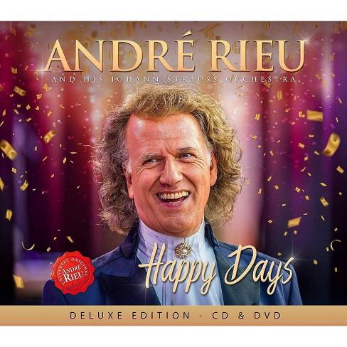Andre rieu johann st - Happy days (cd/dvd) (CD) - image 1 of 1