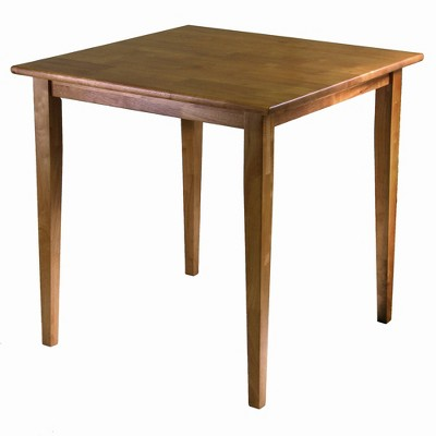 "29.53"" Groveland Square Dining Table Light Oak - Winsome"