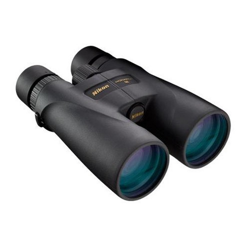 Nikon 20x56 Monarch 5 Water Proof Roof Prism Binocular with 3.3 Degree Angle of View, Black, U.S.A - image 1 of 4