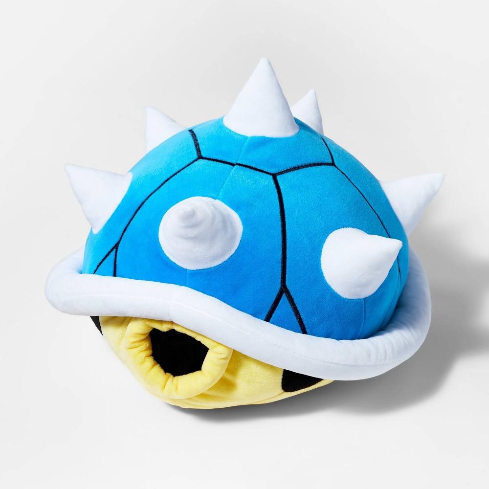 Nintendo Mario Kart Shell Pillow Blue