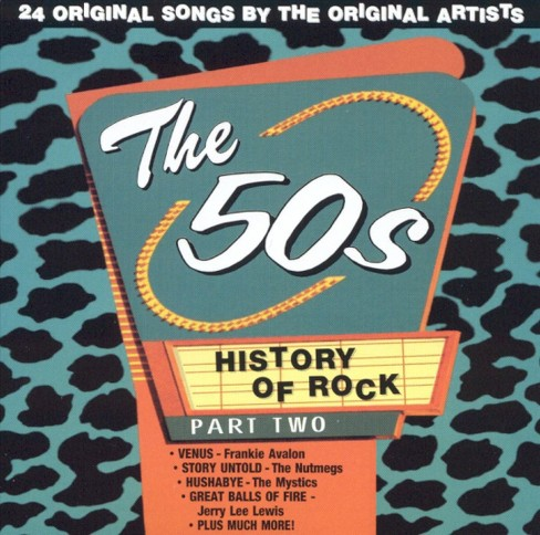 Various - History of rock:50's vol 2 (CD) - image 1 of 1
