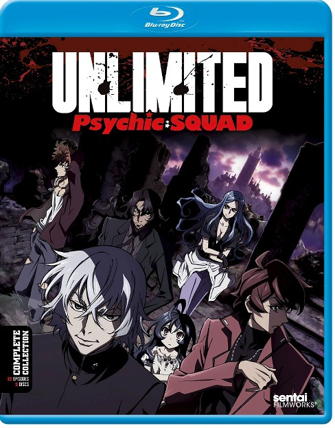 Unlimited psychic squad:Complete coll (Blu-ray) - image 1 of 1