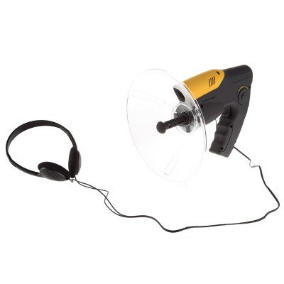 Electronic Listening Device for Science Exploration and Toy Spy Kits - Kid's Hearing Dish with Headphones Included For Boys and Girls by Toy Time