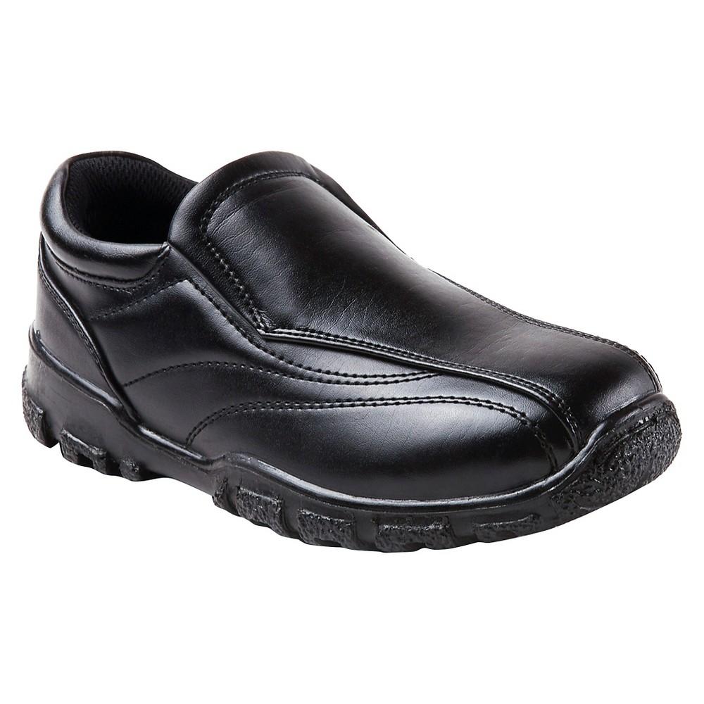 Boys' Deer Stags Recess Slip-on Casual Sneakers - Black 1.5