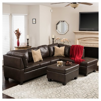 Lovely Canterbury 3pc Sectional Sofa Set   Christopher Knight Home : Target